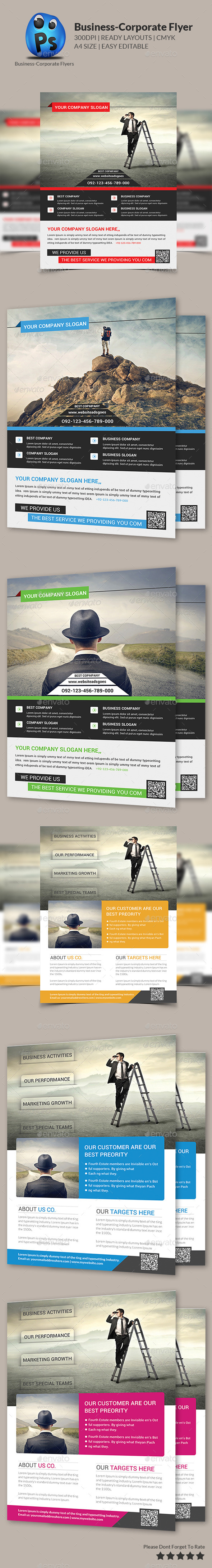 GraphicRiver Corporate Business Flyer Template 9140388