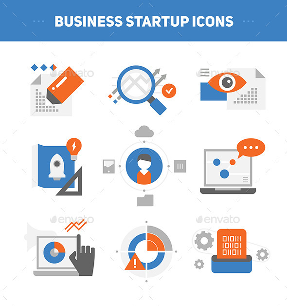 GraphicRiver Startup Business Concepts 9140489