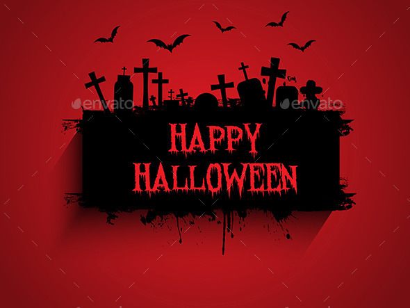 GraphicRiver Halloween Background 9140735