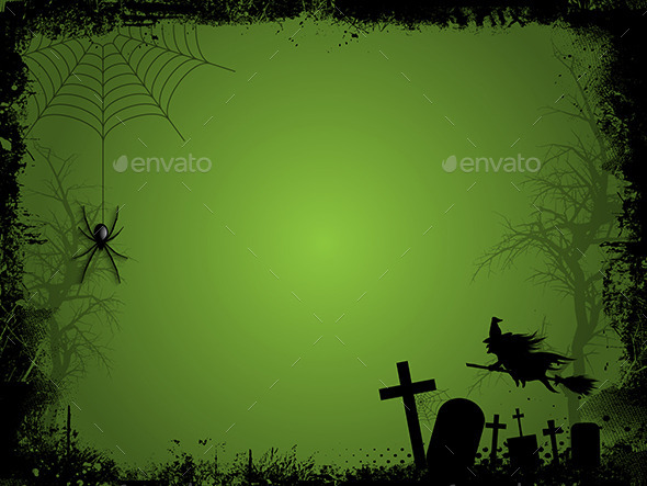 GraphicRiver Halloween Background 9140854