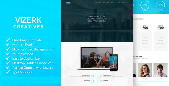 Vizerk - Creative Muse Template