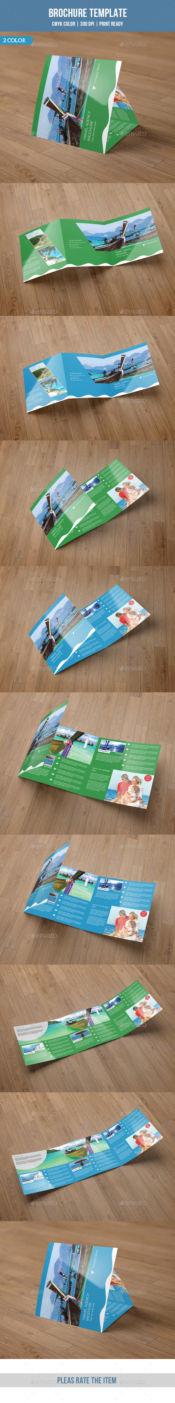 GraphicRiver Square Trifold Brochure for Business-V39 9141412