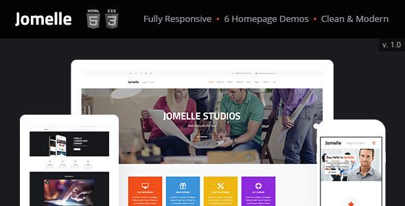 ThemeForest Jomelle Multi-purpose Business Html Template 9088249