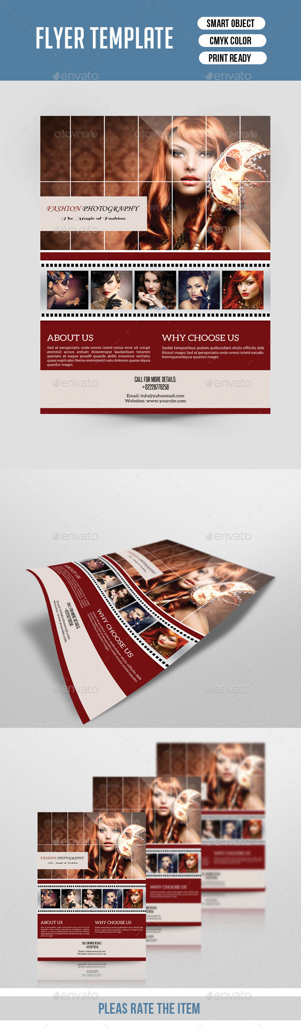 GraphicRiver Photography Flyer-V141 9141863