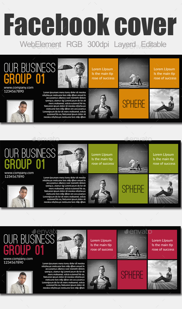 GraphicRiver Business Facebook Cover 9142006