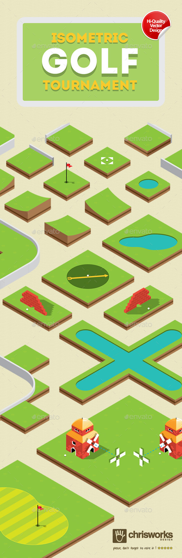 Isometric Golf Gamekit