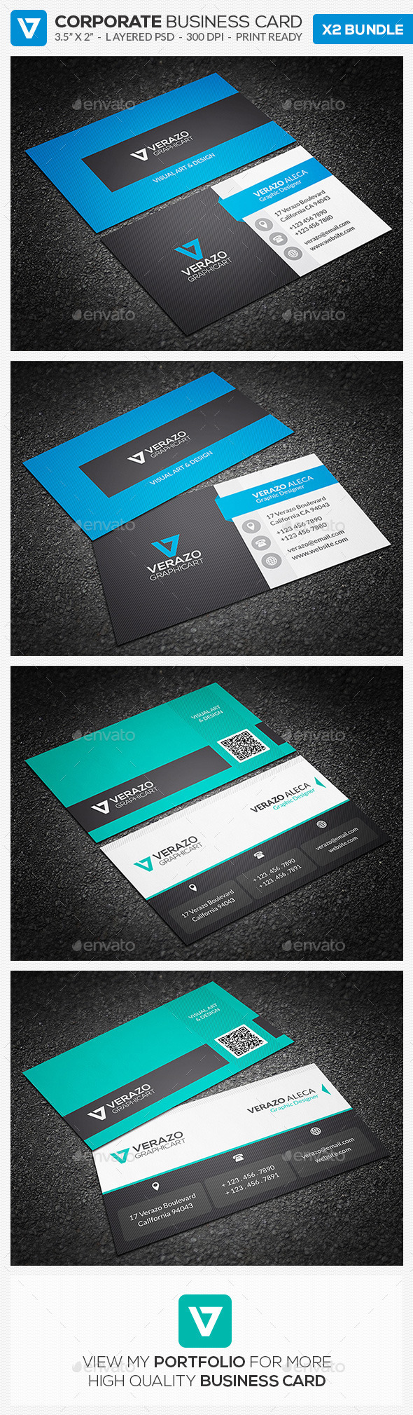 GraphicRiver Business Card Bundle 10 9143613