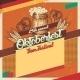 Oktoberfest Beer Festival Vintage Card - GraphicRiver Item for Sale