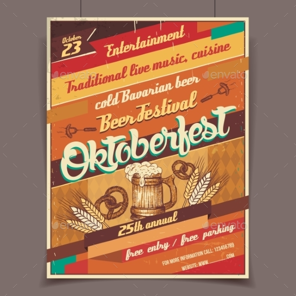 GraphicRiver Oktoberfest Beer Festival 9143768