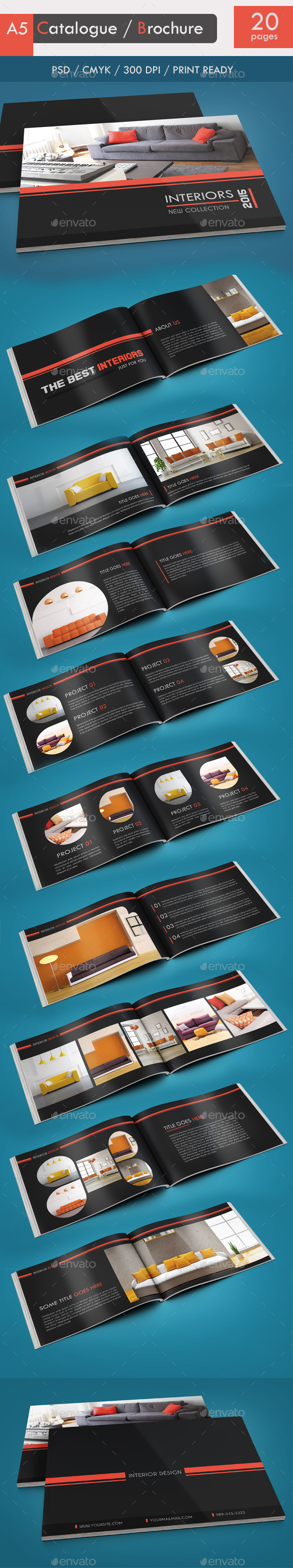 GraphicRiver Catalogue Brochure 9143773