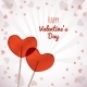 Lollipops Heart Shaped Valentine's Day - GraphicRiver Item for Sale