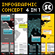 World Map Infographic - GraphicRiver Item for Sale