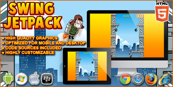 CodeCanyon Swing Jetpack HTML5 Game 9144021