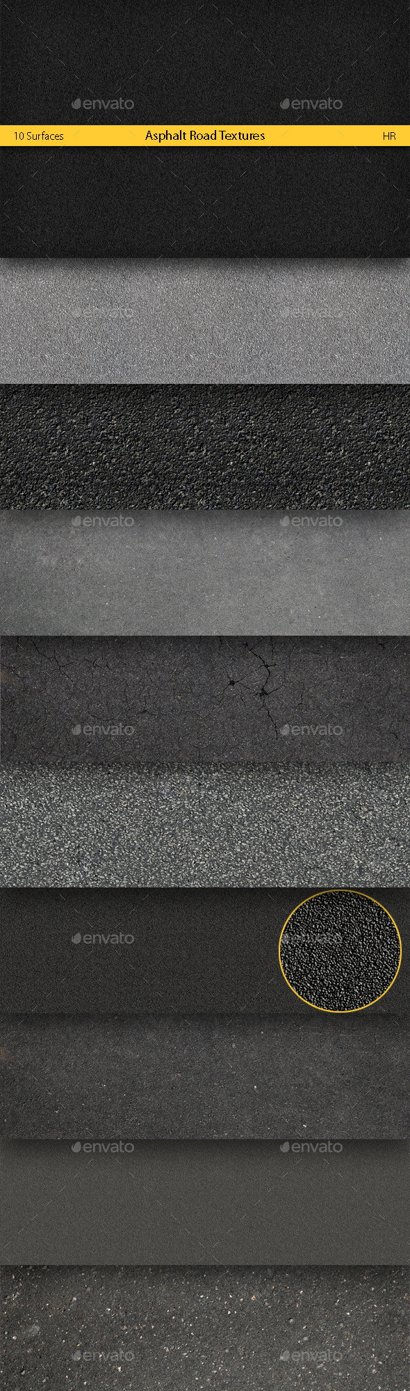 Asphalt Road Textures Backgrounds