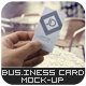 Photorealistic Business Card Mock-Up Vol.3 - GraphicRiver Item for Sale