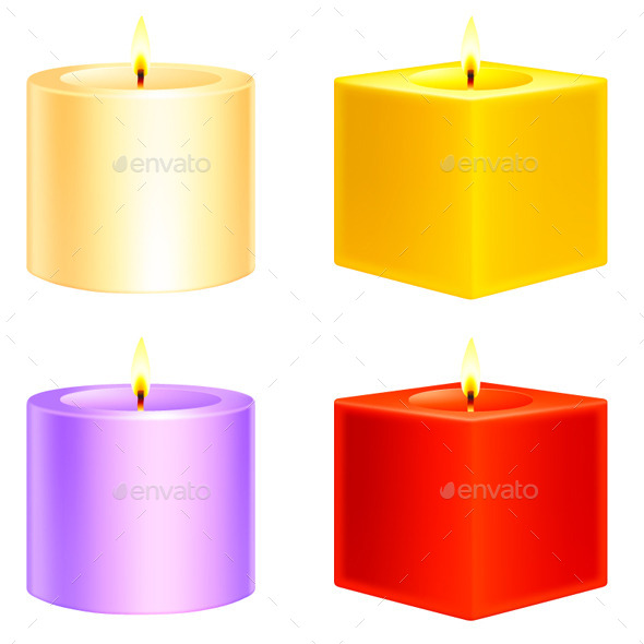 GraphicRiver Candles 9144112