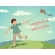 Happy Running Boy with a Kite - GraphicRiver Item for Sale