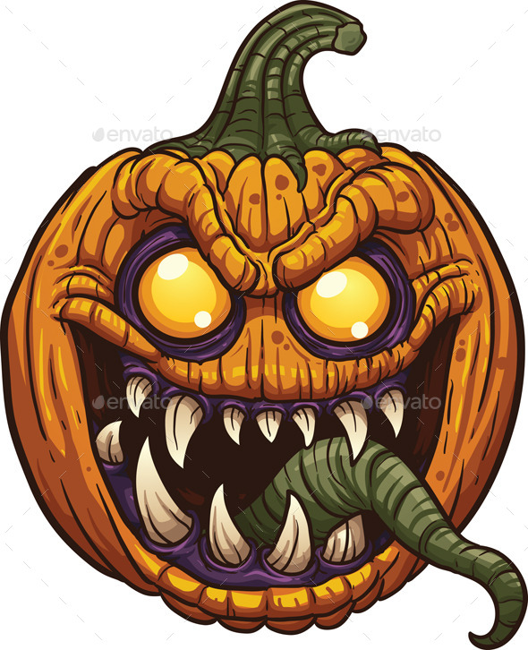 GraphicRiver Pumpkin Monster 9144198