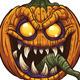 Pumpkin Monster - GraphicRiver Item for Sale