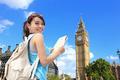Happy woman travel in London - PhotoDune Item for Sale