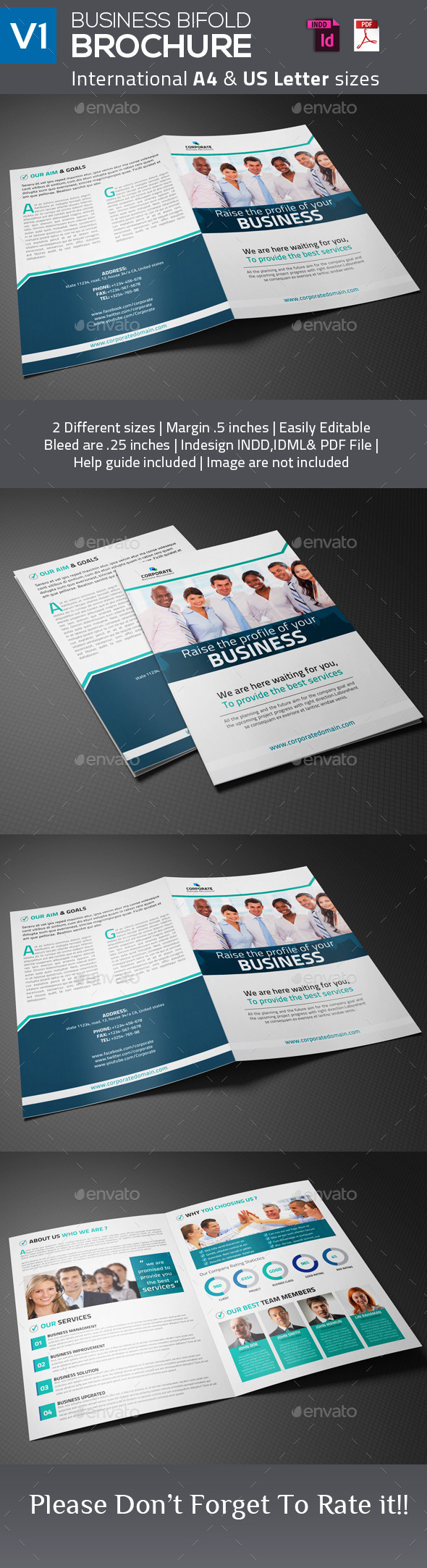 Business Bifold Brochure V1
