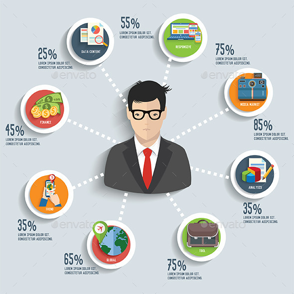 GraphicRiver Business of Infographic 9099215