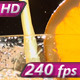 Glass Filled with Orange Juice - VideoHive Item for Sale