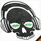 Skull Audio Logo - GraphicRiver Item for Sale