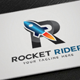 Rocket Rider Logo - GraphicRiver Item for Sale