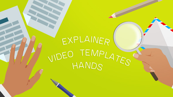 Explainer Video Templates Hands