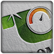 Green Speedometer Logo - GraphicRiver Item for Sale