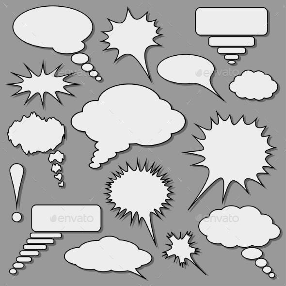 GraphicRiver Speech Bubbles Set 9145471