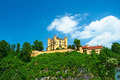 The castle of Hohenschwangau in Germany - PhotoDune Item for Sale