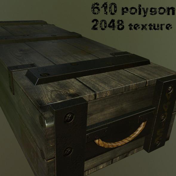 3DOcean ArmyAmmoBox 9145490