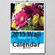 2015 Wall Calendar Design - GraphicRiver Item for Sale