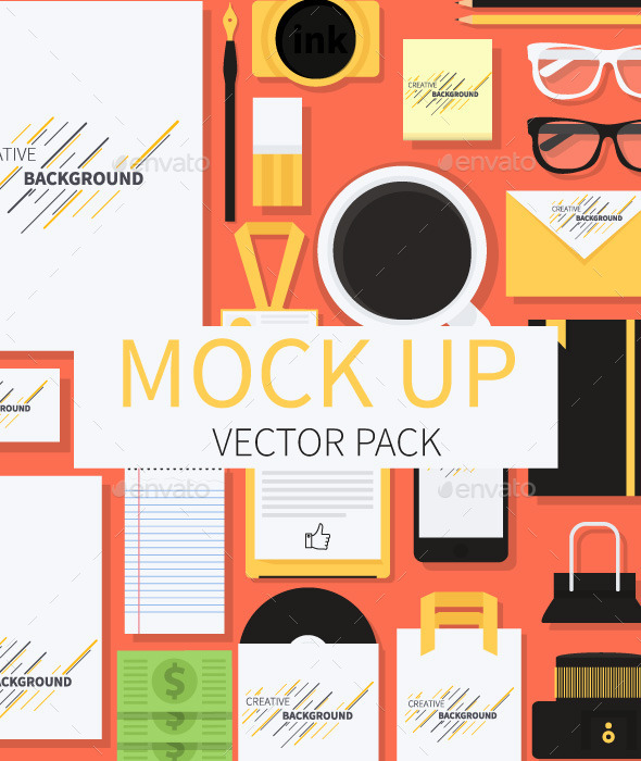 GraphicRiver Mockup Illustration 9145691
