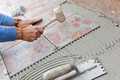 Tiler to work with tile flooring. - PhotoDune Item for Sale