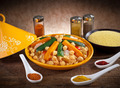 Vegetable tagine with cous cous and spices - PhotoDune Item for Sale