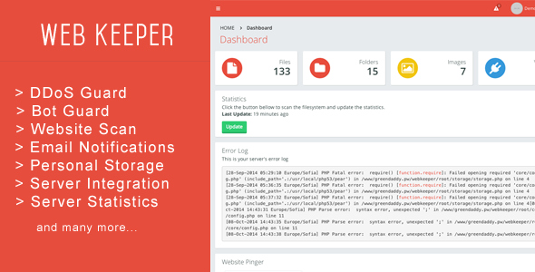 CodeCanyon Web Keeper Security & Optimization 9102899