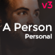 A Person -  Creative Personal Theme - ThemeForest Item for Sale
