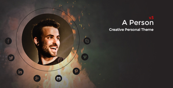 A Person -  Creative Personal Theme