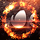 Short Fiery Logo - VideoHive Item for Sale