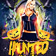 Haunted House Halloween Flyer - GraphicRiver Item for Sale