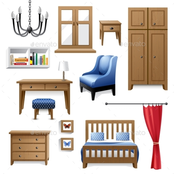 GraphicRiver Furniture Icons 9147269