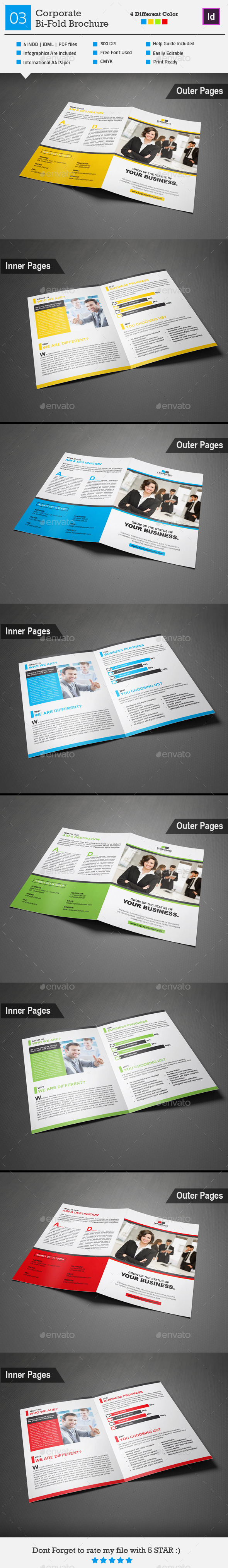 GraphicRiver Corporate Bi-Fold Brochure 03 9147332