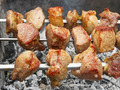 Shish kebab on metal skewers - PhotoDune Item for Sale