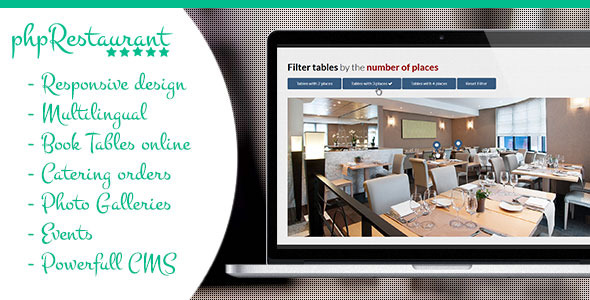 CodeCanyon phpRestaurant Restaurant Script with CMS 9091946