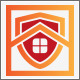 Safety House Security Logo - GraphicRiver Item for Sale