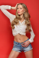 beautiful blonde woman in studio - PhotoDune Item for Sale