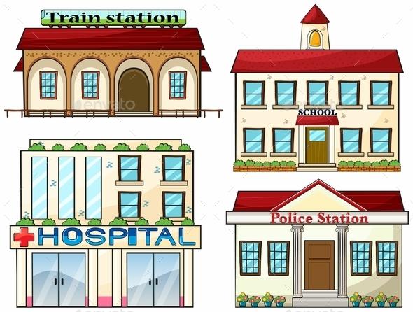 GraphicRiver City Buildings 9148166
